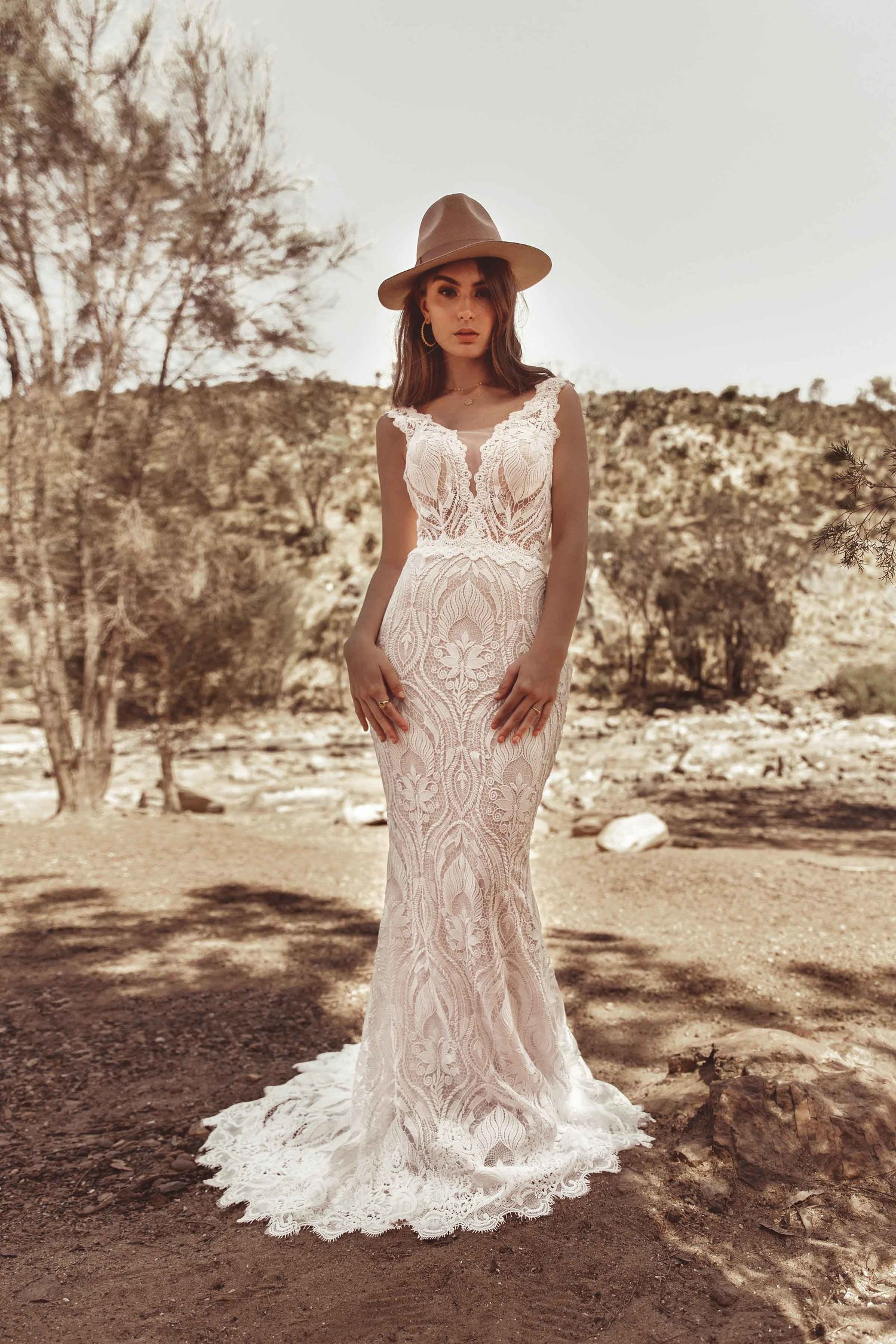 beautiful White April wedding dress in Perth