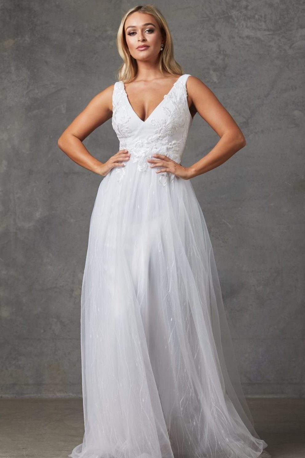 beautiful princess style wedding dress in Perth