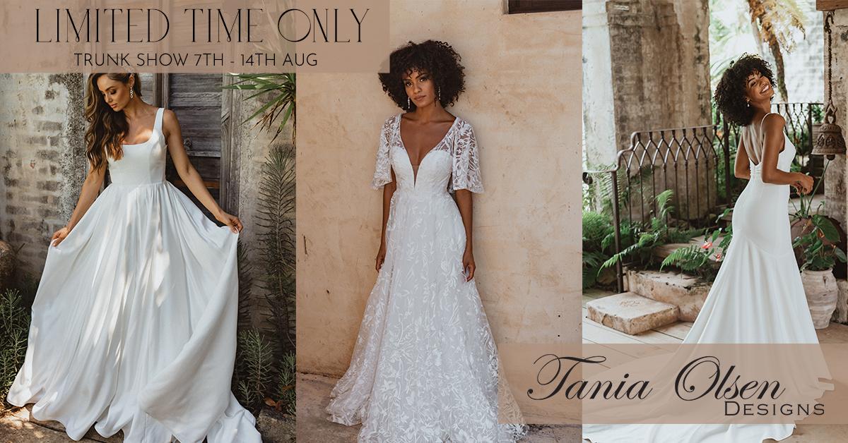 Tania Olsen 'Escape' Bridal Trunk Show 2021